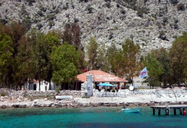 Dining Ashore During Your Charter at Loryma Bay Restaurant
