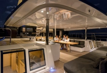 GALUX ONE Aft Deck