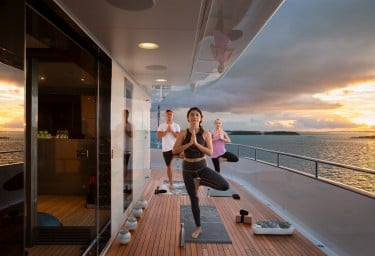 ETERNITY Sun Deck Yoga