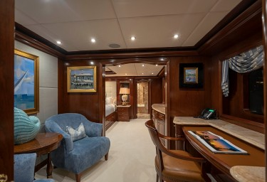 AQUASITION Office in the Master Stateroom