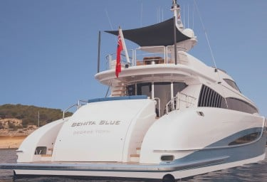 BENITA BLUE Stern View