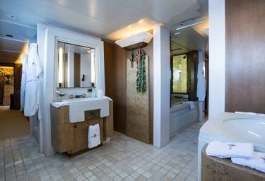 CORAL OCEAN Master Bathroom & Generous Dressing Room