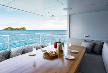 THE BEAST Aft Deck Dining