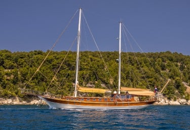 Charter Gulet ANGELICA Underway