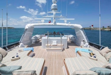 CHERISH Flybridge Aft