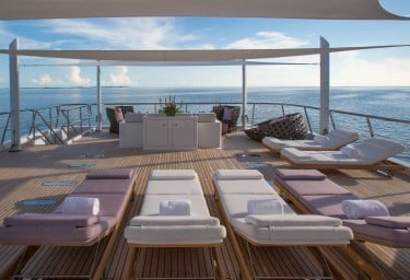 DREAM Sun Deck Lounging