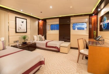 DREAM Twin Stateroom (Convertible to a King)