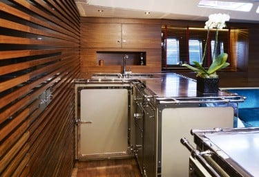 TUSCAN SPIRIT Galley