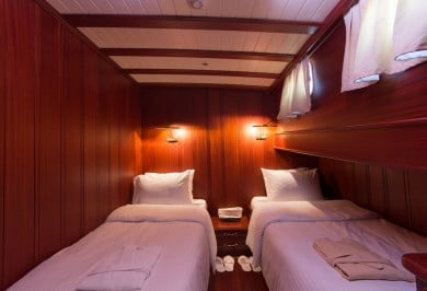 Luxury Gulet ATALANTE Guest Twin Cabin