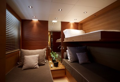 Luxury Charter Motor Boat FELIGO V Twin Cabin with Pullman Berth