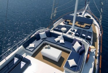 AURUM Private Upper Deck Lounging Areas