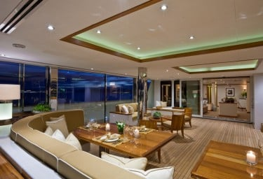 Luxury Expedition Yacht SURI Glass House