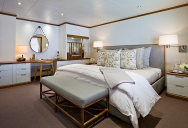 Luxury Expedition Yacht SURI Guest Lagoon Cabin