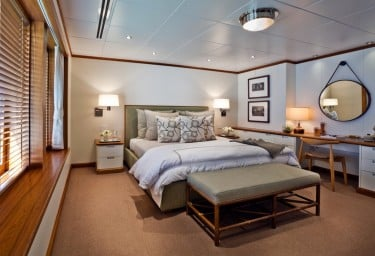 Luxury Expedition Yacht SURI Guest Willow Cabin