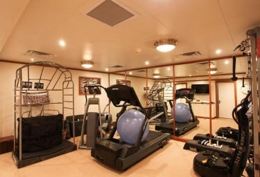Luxury Expedition Yacht SURI Fully Equipped Gym