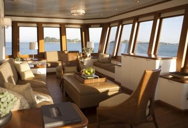 Luxury Expedition Yacht SURI Observation Lounge