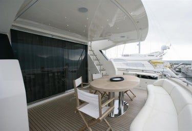 BLUE ANGEL Aft Deck