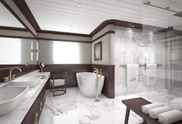 GRAND OCEAN Master Cabin Bathroom