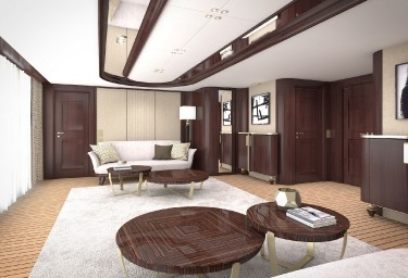 GRAND OCEAN Master Cabin Salon