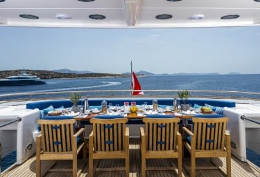 JAAN Upper Deck Dining