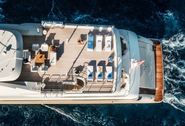 LIGHT HOLIC Aerial View of the Aft