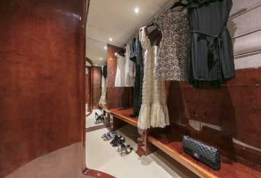 SOLE DI MARE Master Cabin Walk-in Closet