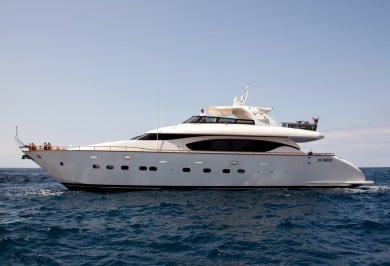 Charter Motor Yacht SANDS Profile