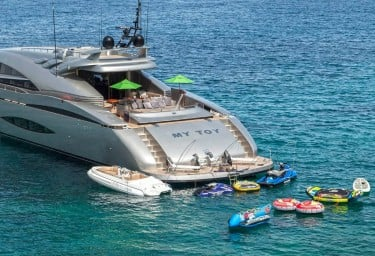 Luxury Charter Yacht MY TOY Water Toys