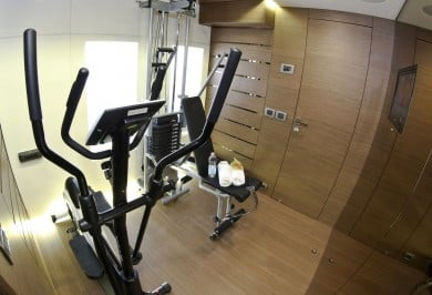 Charter Yacht OURANOS Gym
