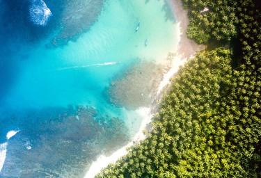 New Caledonia Aerial Beach Shot