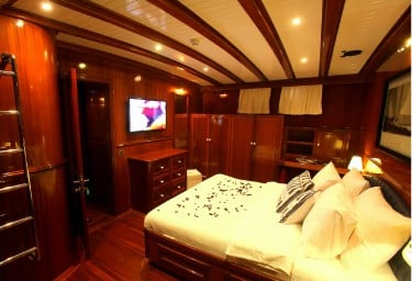 QUEEN OF DATCA Master Cabin Forward