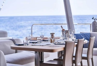 BABAC Aft Deck Dining