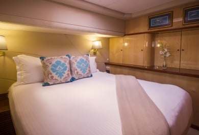 Sailing Catamaran KINGS RANSOM Guest Ensuite Cabin
