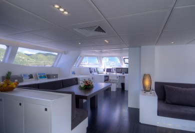 Charter Catamaran LEVANTE Galley