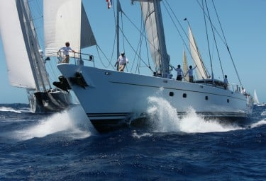 Sailing Yacht HYPERION Bow