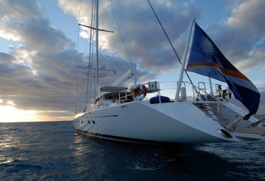 Sailing Yacht HYPERION Stern