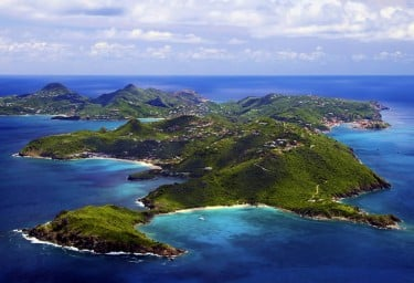 St Barths island anchorages and bays