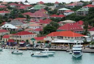 LEEWARD ISLANDS Gustavia Harbour, St Barts