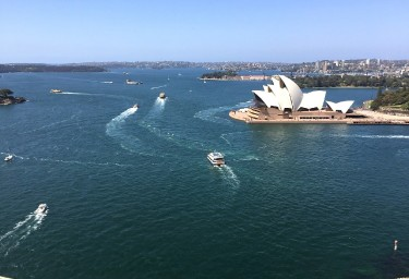 Sydney Harbour with Opera House