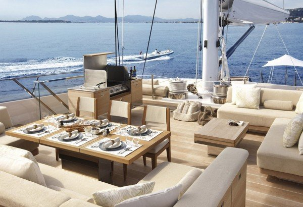 Luxury Sailing Yacht TWIZZLE designed by Ed Dubois