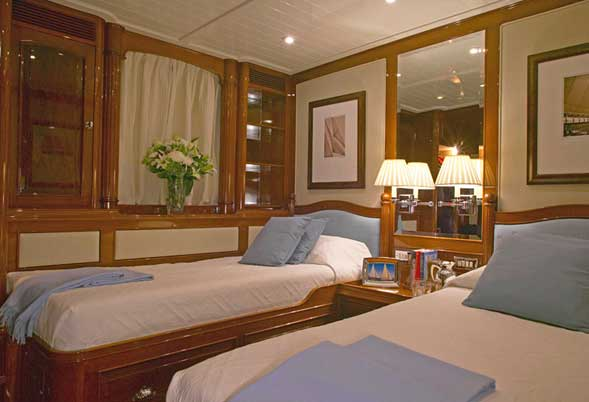 Whisper Twin Stateroom